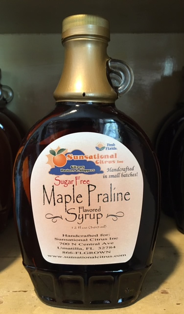 Maple Praline Syrup